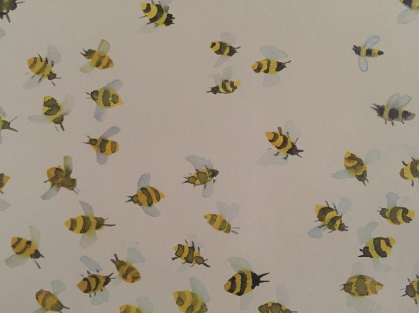 sketchbook bees